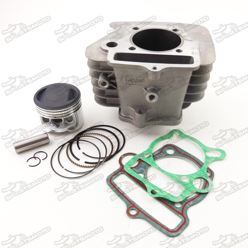 Dirt Pit Bike Parts Yinxiang Engine Cylinder Bore Kits For YX140cc W063 Kick Start 1P56FMJ