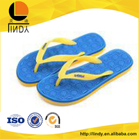 Nice performance slippers shoes flip flop pvc straps