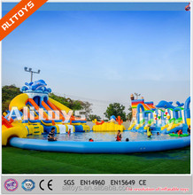 Ali Big Commercial inflatable pool park