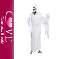 Best Sexy Halloween Costume Patterns Hot Horror White Wizard Costumes 5Xl Halloween Costumes Men Wholesale Men Latex Costume