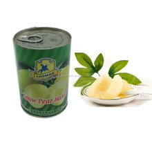 Chinese wholesale food canned pear 425g/tin
