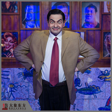 Theme Park Attractions Lifesize Actor Mr Bean Sculpture
