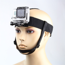 QIUNIU Go Pro Accessories Head Strap Mount Belt with Chin Strap for GoPro HD Hero 4/3+/3/2 SJ4000 Xiaomi Yi Action Camera