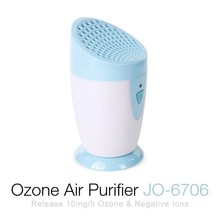 CE, Fcc, RoHS Certified JO-6706 Portable Air Purifier Ozone Sterilizer
