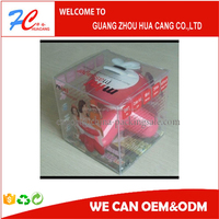 New product 3x3 pvc box Manufacturer/Plastic Vacuum Seal Non-Woven pvc Storage Boxes