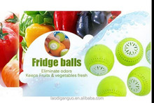 Alibaba recommend high quality and good price New Arrival 2PCS packaging Fridge Ball keep fresh/absorb peculiar smell