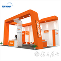 Detian offer modern trade show exhibition booth with high quality aluminum