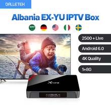XNANO X96 PRO Android Set Top Box WIFI Media Player Full HD with IUDTV Android TV Box Channels List