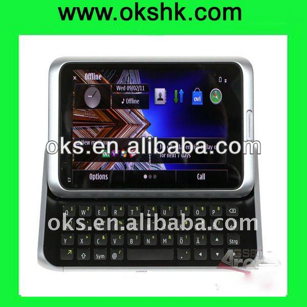 E7 qwerty keypad touch screen smart mobile phone
