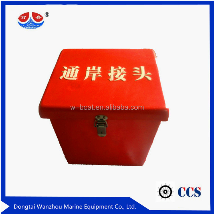 new design GRP glass reinforced plastic fire hose box