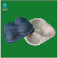 Eco Friendly Paper Pulp Molded Fruit Trays, Tomato Trays, Apple Trays