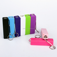 2600mAh portable power bank keychain 2015 new products high quality power bank red rose perfume power bank external battery