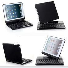 360 degreen revolve teclat alloy wireless mini bluetooth keyboard for ipad mini