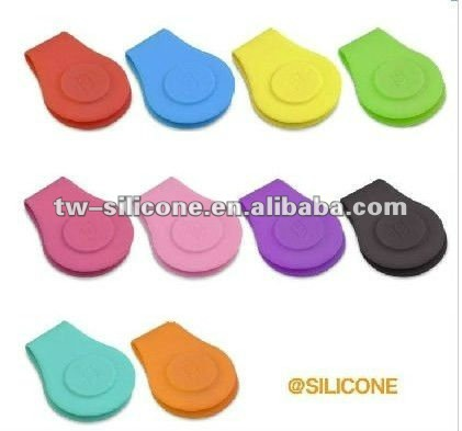 Alibaba website wholesale strong magnet silicone wallet bag