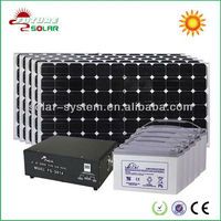 flexible 7200w solar panel with solar system, ups