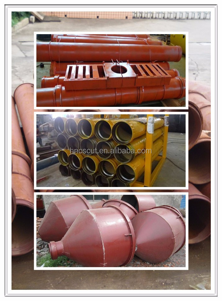 Concrete Tremie Pipe For Rotary Drilling Rig Parts