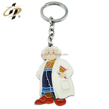 Wholesale Custom Blank Anime Doctor Metal Car Key Chain For Bags Part