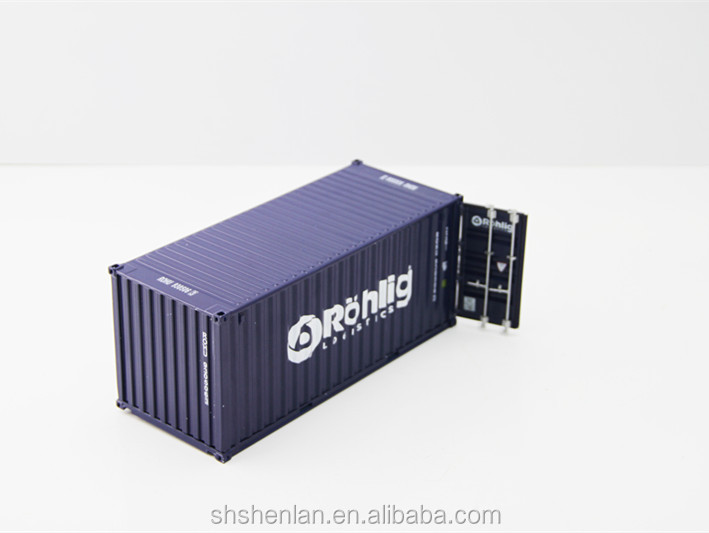 Scale 1:30 20 feet, custom made, mini metal promotional shipping container model