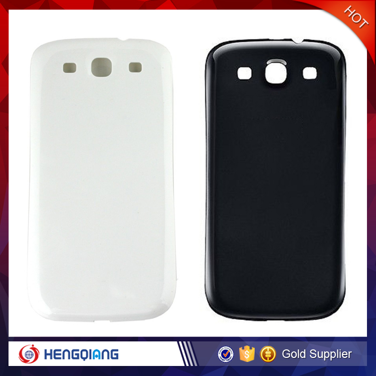 Grade AAA Mobile Phone Housing Cover for Samsung Galaxy S3 Back Cover , for S3 i9300 Battery Door
