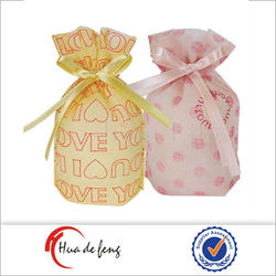 Promotion hot attractive cute candy bag wedding goodie bags
