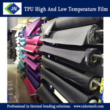 TPU High and low temperature film for No sew on shoe upper vamp seamless shoe upper and vamp