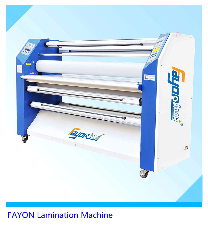 Hot selling Auto electronic double-sides hot & cold roll to roll paper size laminator/Lamination Machine