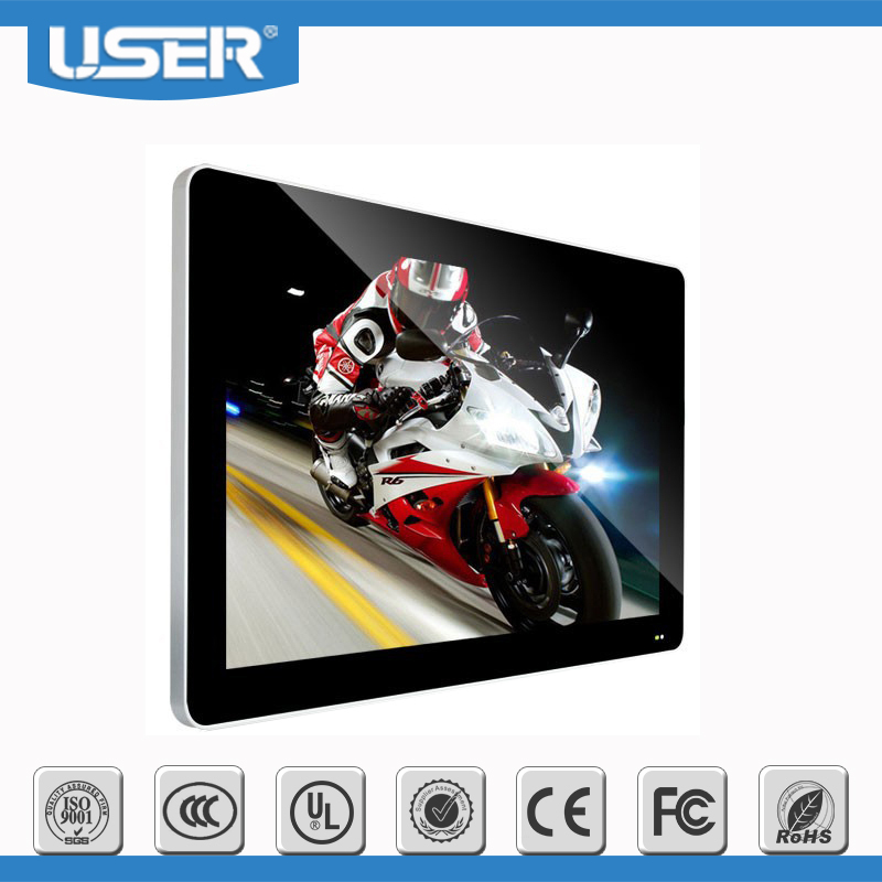 "32""LCD Wifi AD Player,Wall Mounted LCD Advertising Display,Lcd advertising all in one pc"