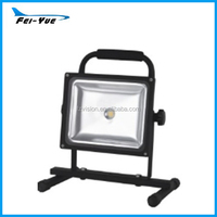 IP65 30W/50W stand portable led work light with bracket