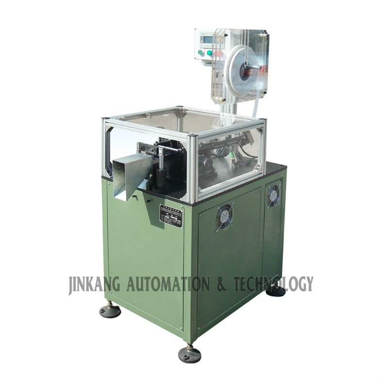 Cutting machine for forming slot wedge/AC/DC electric motor slot insulation/Double channel