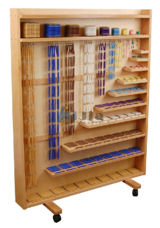 montessori material in china set of and cabinet
