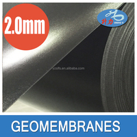 hdpe geomembrane with smooth surface both sides