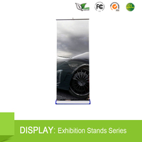 standard base vertical roll up banner