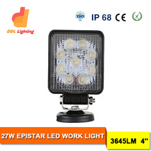 tractor led work light 30W LED Driving Light,led light motorcycle waterproof IP68