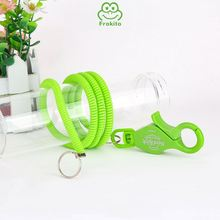 Effective environmental delicate collapsible retractable casino elastic lanyard
