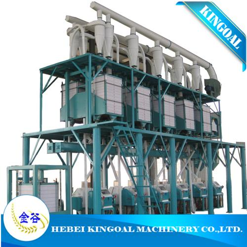 china made maize/corn flour mill machine in Brazil