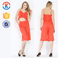 Matching tops and pants for women