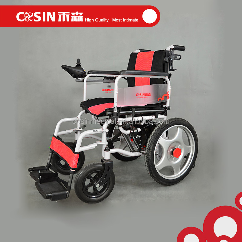Lightweight steel motor wheelchair rehab disability for Motor wheelchair for sale