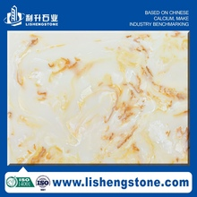 elegant sense low price chinese artifical marble tiles