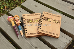 school supplier wood cover notebook