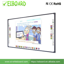 2017 Custom FC-96DG 2 touch optical interactive Ceramics white board for meeting room