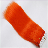 2015 best selling synthetic hair weave, wholesale orange synthetic weave hair
