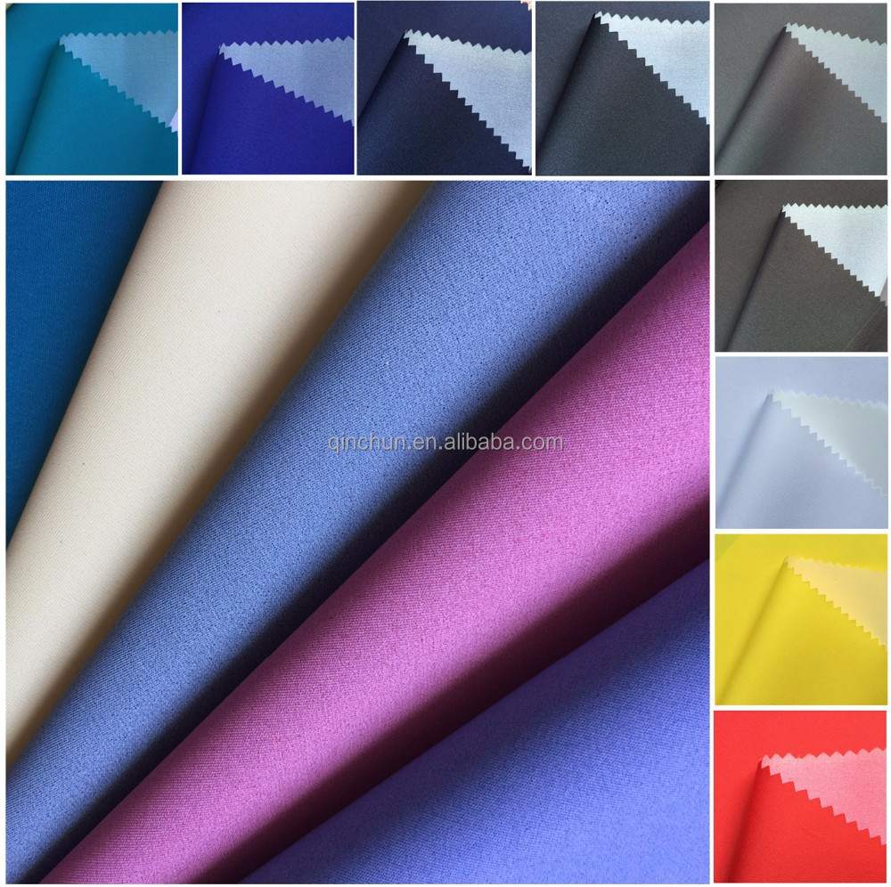 Dewspo fabric with milky coating/ 230T pongee fabric/micro fabric without peach