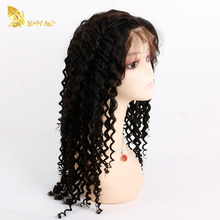 Lace wig vendors virgin hair wigs elastic band brazilian hair glueless full lace wig