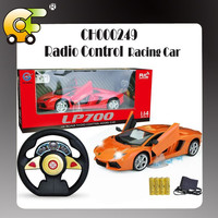 1:14 five funciton Radio control car with light & charger & door can open 2 colors