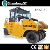 Chinese supplier low price road roller sakai tire roller for sale