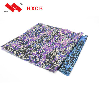 100% Polyester Fabrics Woven Elastic Print Interlining For Shirts