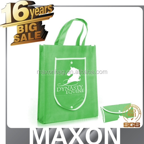 Silk Screen Logo Print Advertising Eco Custom Cheap Promotion Polypropylene Shopping Non Woven Bag