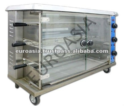 ROASTER - GAS CHICKEN ROASTER 3-LAYER