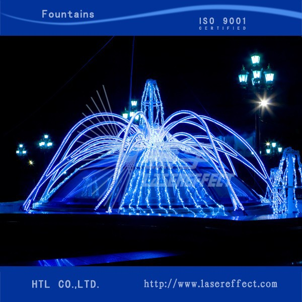 Water Fountain Small Submersible Fountain Pump With Led Light