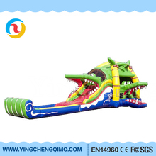 china manufacturing kids and adults playing inflatable high slide big inflatable dry water slides for commercial on sale